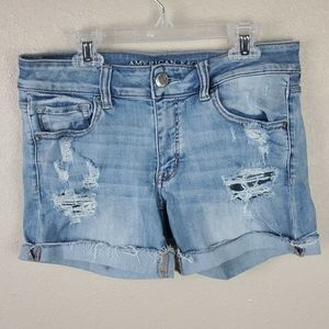 American Eagle jeans shorts Sz 8